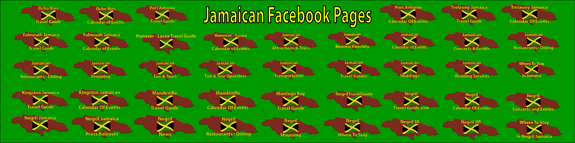 Jamaican Facebook Pagess