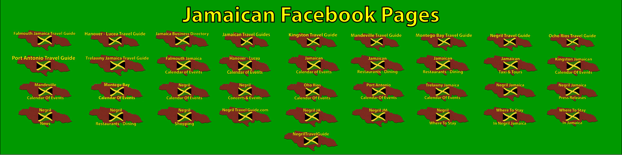 Jamaican Facebook Pages